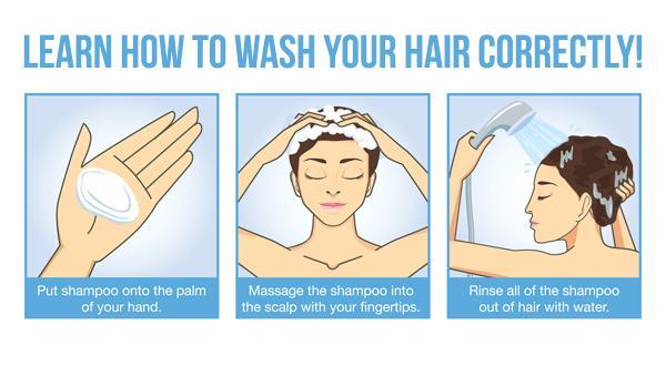 什麼才是正確的洗頭方法呢?