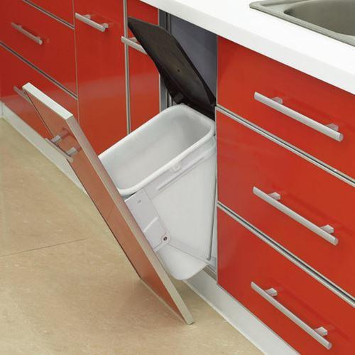 下拉式櫥櫃垃圾筒(含蓋)