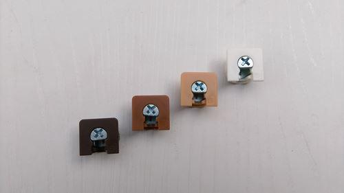 方型固格器(白)/方型固格器(黃)/方型固格器(咖啡)/方型固格器(黑)