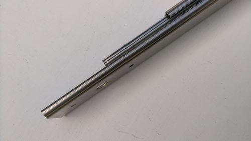 不銹鋼三截伺服器滑軌
