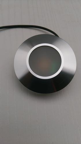 LED鋁合金崁燈40孔(3w)正面