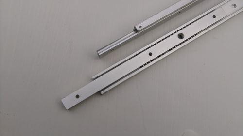 二截式鋁合金鋼珠滑軌