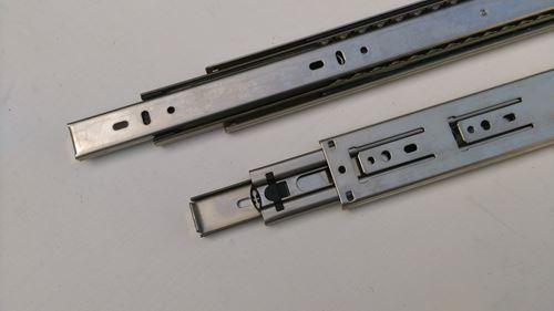 不銹鋼三截鋼珠滑軌